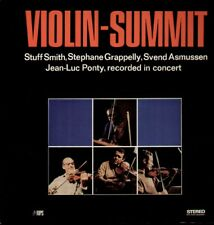Smith, grappelly, Asmussen, Ponty, Violin Summit-Pink Saba LP foc