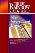The NIV Rainbow Study Bible (New International Version)