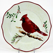 "Better Homes & Gardens WINTER FOREST - CARDINAL 8.75"" Salad Plate 2011 Heritage"