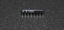 10 off (10 pieces) 1K resistor Network 8pin 4 Res   4 isolated resistors  (2122)
