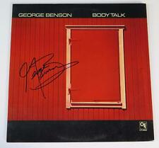 "GEORGE BENSON Signed Autograph ""Body Talk"" Album Vinyl Record LP JAZZ"