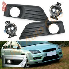 Fog Lights Bumper Bezels Cover Driving Lamps For Ford Focus 2005 2006 2007