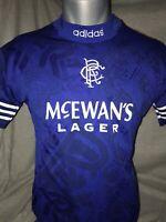 Rangers Home Shirt 1995/96 Gascoigne 8 Rare And Vintage