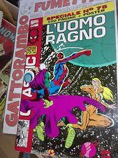 L' Uomo Ragno Classic n.75 con poster rarissimo - Marvel Comics ottimo