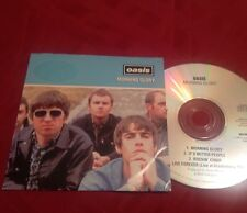 OASIS - MORNING GLORY - PROMO CD - RARE !!! liam gallagher / noel