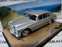 JB32E voiture 1/43 IXO 007 JAMES BOND Mercedes benz 600 au service de sa majesté