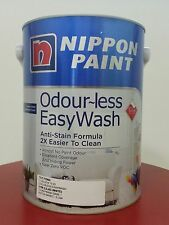Nippon Paint Odourless EasyWash (Lilac White) - 5 Litres