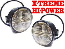 High Power Round DRL LED Daytime Running Lights Fog Auto Switch Landrover