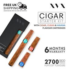 CIGAR Vape Pen Electronic Cigarette E Shisha Cig USB Rechargeable Starter Kit UK