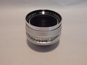 Schneider Kreuznach Xenon f:1.9 50mm lens DKL f:1.9/50mm NICE