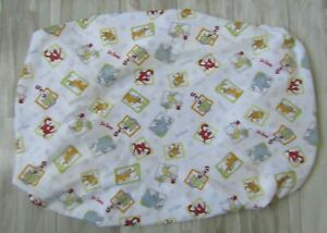 Dr. Seuss by Trend Lab Cat in the Hat Fox in Soxs Changing Pad Fitted Sheet