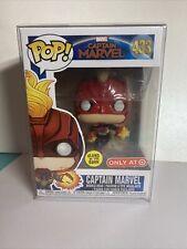 Funko Pop! Captain Marvel #433 GITD Target Exclusive- Mint