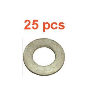 (25) Marli 12mm Aluminum Oil Drain Plug Gaskets M12 Fits Toyota Chevy GMC