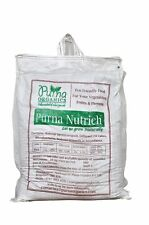 Purna Nutrich 60Kg- Enriched Vermicompost. Organic Manure.(6x10kg bags).