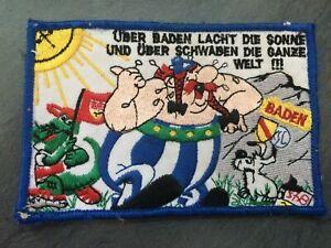 """Anti Schwaben Aufnäher """"Über Baden lacht die Sonne,..."""" KSC SC Freiburg Fussball"""