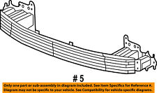 CHRYSLER OEM 17-18 Pacifica Front Bumper Grille-Absorber 68252872AA