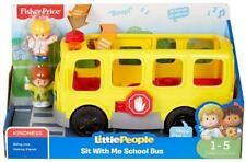 Little People Sit With Me School Bus Large Vehicle