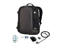 "NEW Dell Backpack Premier PC Accessory Bundle 15.6"" 8G USB Mouse Lock Charger"