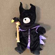 Maleficent Build A Bear costume and shoes with Tags. Includes generic bear.