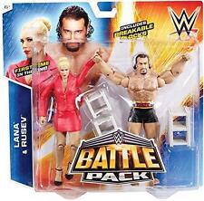 RUSEV & LANA WWE MATTEL PACK DE BATAILLE SÉRIE 34 TOUT NEUF PAQUET DOUBLE ÉTAT