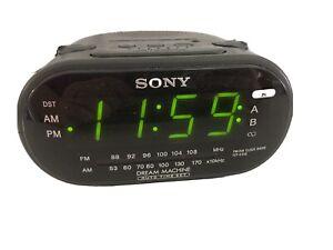 Sony Dream Machine AM FM Dual Alarm Clock Radio Model ICF-C318 Tested