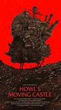 Olly Moss Howl's Moving Castle Regular Ghibli Mondo