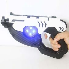 Overwatch Ow Tracer Double Guns Cosplay Props Weapons ABS Toy Original 1:1