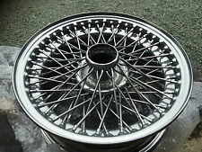 Jaguar E Type Series 3 Wire Wheels - How To Sort Those Tatty Chrome Wires Out !