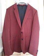 BNWOT Hugo (Hugo Boss) Anwor Hadlin Red Black Check Suit Size UK 46R 56(HB)