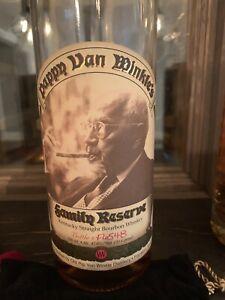 Pappy Van Winkle Family Reserve 23 Year Bourbon Empty Bottle