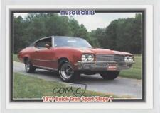 1992 Collect-A-Card Musclecars #6 1971 Buick Gran Sport Stage 1 Card 3a3