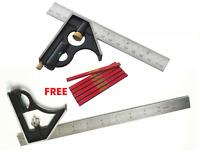 "Combination Square adjustable 12"" (300mm) Combination measuring set Square"