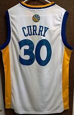 Golden State Warriors Stephen Curry Signed Jersey COA