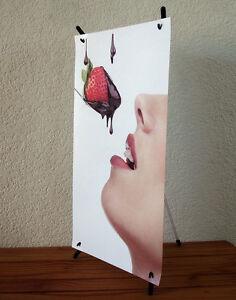 "Mini Counter X Banner Stand+FREE Printing, 10""x17"" , X016"