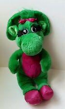 Baby Bop Vintage 90s 1992 Lyons Group Plush  Barney The Dinosaur Green Friend