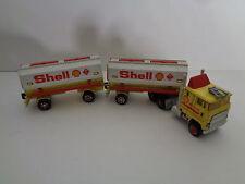 Tankzug mit Anhänger  Shell   S 600 1/87 von Majorette