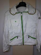 Moncler giubbotto jacket giubotto giubbino tg 2 donna woman giacca bianco jacke