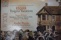 Elgar, Williams, & Previn 33RPM 011516 TLJ