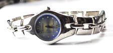 Women's Armitron Quartz 75/2453T Now WR100 Blue Crystal Wristwatch 22mm