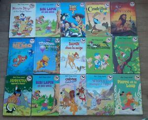 Lot Club du livre Mickey - Disney - Lot de 51 livres -  anciens et modernes