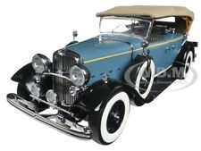 1932 FORD LINCOLN KB TOP UP BLUE 1/18 DIECAST MODEL CAR BY SUNSTAR 6161