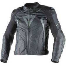 Blousons noirs Dainese pour motocyclette taille 48
