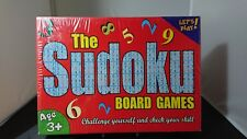 The Sudoku Board Games Home Skill Numbers Game *New*