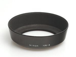 Nikon Metall Schraub Gegenlichtblende HN-3 für AF Nikkor 35mm F/2.0D und F/1.4