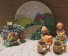 Precious Moments Rare! Miniature Country Lane Enesco Item # 312738L #Mts-Cty