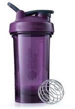 BLENDER BOTTLE Pro Series Shaker Bottle BPA-Free 24-Ounce - Plum