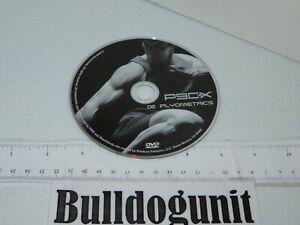 P90X 02 Plyometrics DVD Disc Only Workout Fitness Beachbody