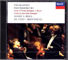 Joshua Bell: Prokofiev Violin Concerto No. 1 & 2 Charles Dutoit CD PROKOFIEV NUOVO