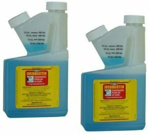 Durvet Pour On Parasiticide for Cattle 250mL 2-Pack