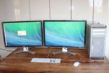 COMBO Apple Mac Pro Desktop 1,1 2006 + 2 x 30 inch screens 2560x1600